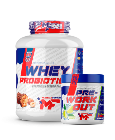 Whey Probiotic + Pre WorkOut